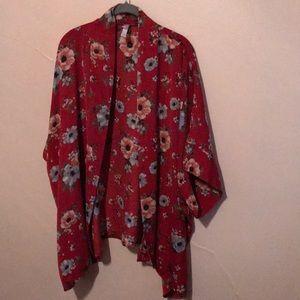 Xhilaration size Xs/S women's printed kimono